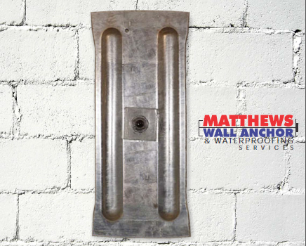 VS Exterior for Interior Waterproofing by Matthews Wall Anchor
