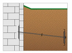 Support bowing walls with wall anchors in Pittsburgh, Beaver Falls, PA