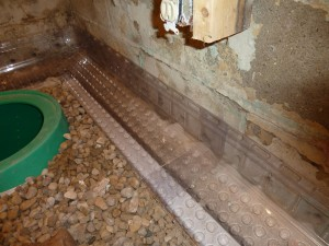 Interior drainage has waterproofing benefits