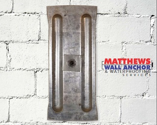 Plate Anchors Matthews Wall Anchor Amp Waterproofing Services