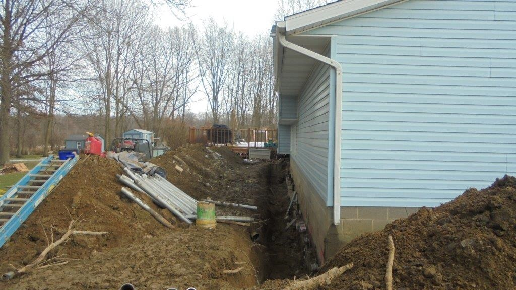 Foundation Repair Case Study, Rootstown, OH - Matthews Wall