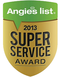 Angie's List Award - Why Choose Matthews Foundation Repair Contractor