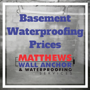 basement waterproofing pricing for Pittsburgh, PA