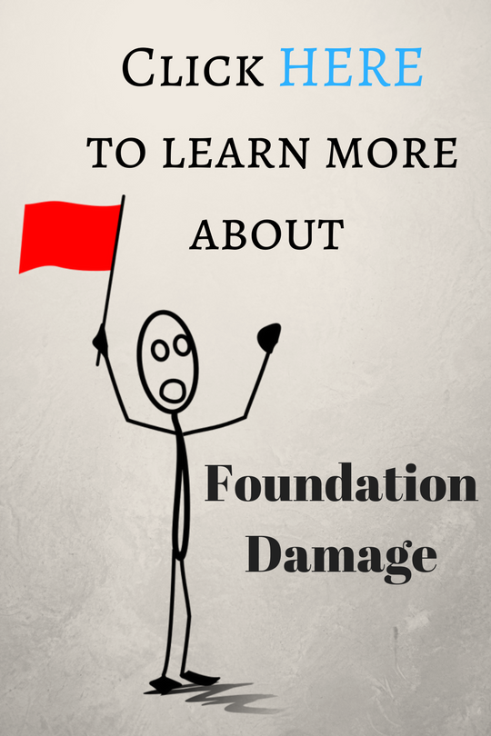 foundation damage and problems