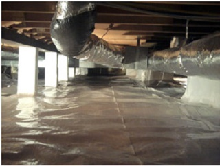 crawlspace humidity repair