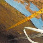 Portersville wall anchor installation
