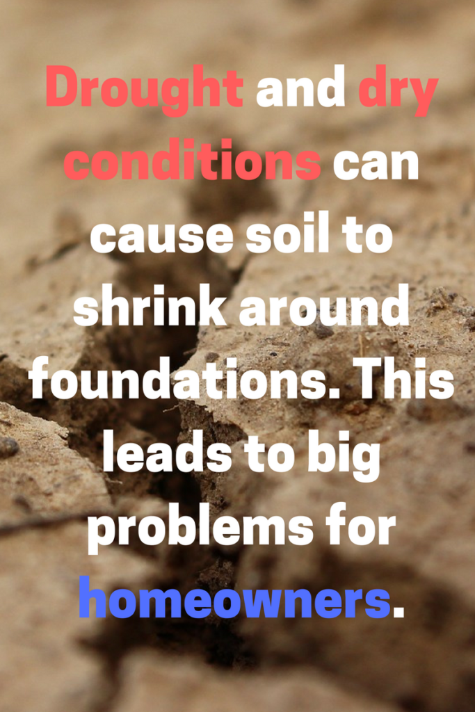 drought, soil, foundation repair