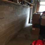 bowed wall and wall cracks in Ohio