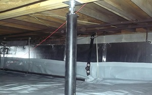 interior waterproofing