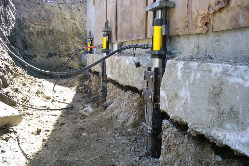 foundation repair in Mt. Lebanon, PA