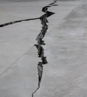 slab cracks can occur commonly in Ohio, Pennsylvania, and West Virginia