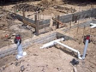 new foundation construction