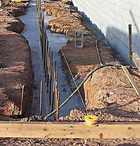 spread footings