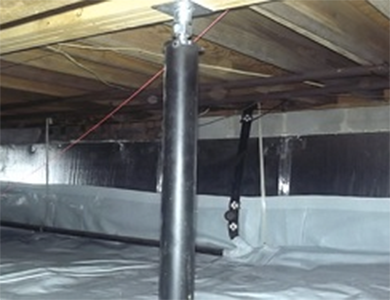 Finleyville vapor barrier